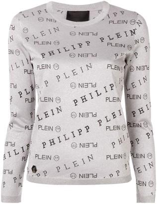Philipp Plein Logo Print Jumper