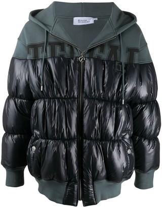 Telfar Oversize Hooded Puffer Coat