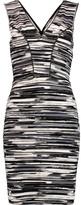 Tart Collections Viera printed stretch-jersey mini dress