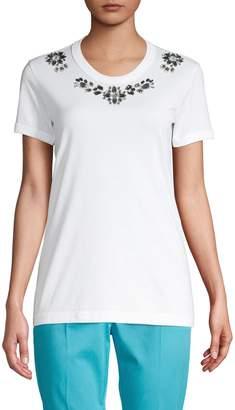 Dolce & Gabbana Crystal Embellished T-Shirt