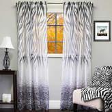 "Sweet Home Collection Kenya Sheer Exotic Animal Print Curtain Panel 50"" x 84"""