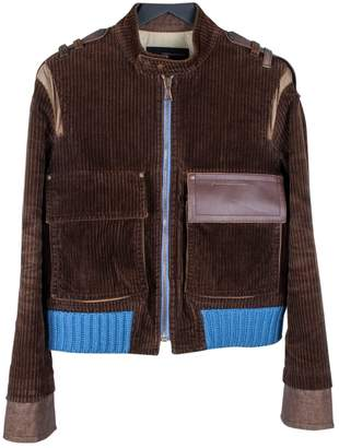 DSQUARED2 Brown Cotton Jackets