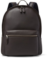 Dunhill Hampstead Full-grain Leather Backpack