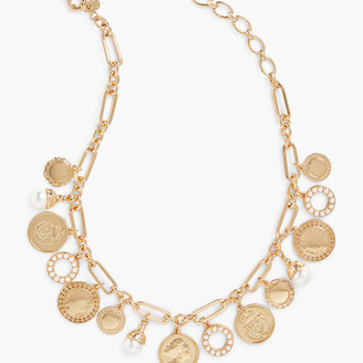 Talbots Coin Charm Necklace