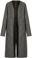 Haider Ackermann Ladouche hound's-tooth quilted-wool coat