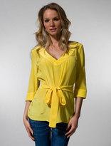 Strella Short Caftan in Yellow