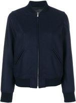A.P.C. bomber jacket - women - Polyamide/Viscose/Cashmere/Virgin Wool - 34