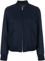 A.P.C. bomber jacket - women - Polyamide/Viscose/Cashmere/Virgin Wool - 36