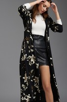 Dynamite Maxi Floral Printed Overpiece with Belt