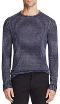 Alexander Wang Linen Stripe Long Sleeve Tee