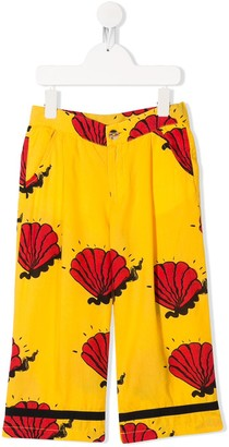 Mini Rodini Shell printed trousers