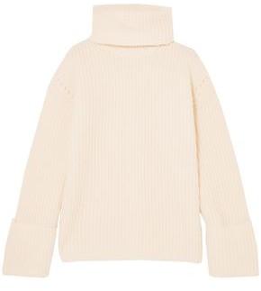 Equipment Uma Oversized Wool And Cashmere-blend Turtleneck Sweater