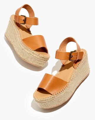 Madewell Soludos Minorca Platform Espadrille Sandals