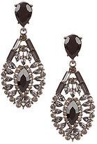 Natasha Accessories Teardrop Statement Earrings