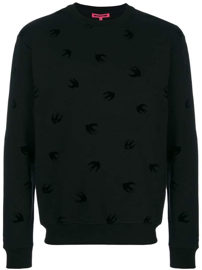 McQ swallow intarsia sweater