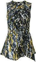 Marni Haze print knot detail blouse