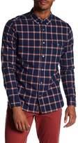 Jachs Plaid Classic Fit Oxford Shirt