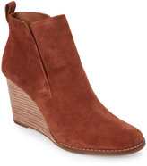 Lucky Brand Chipmunk Yoniana Pull-On Wedge Booties