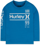 Hurley Long-Sleeve Graphic-Print T-Shirt, Little Boys (2-7)