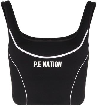 P.E Nation Three Pointer sports bra