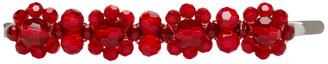 Simone Rocha Red Flower Hair Clip