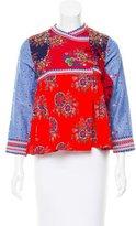 Ulla Johnson Vashti Patchwork Jacket w/ Tags