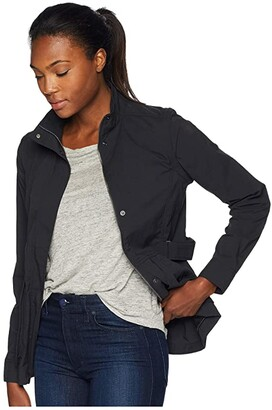 Royal Robbins Discovery Convertible Jacket (Jet Black) Women's Coat