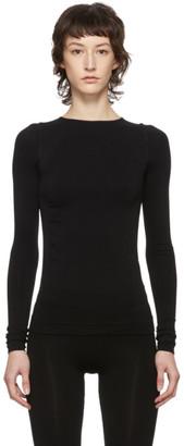 Rick Owens Black Sport Crewneck Sweater