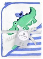 Carter's Alligator Hooded Towel - Blue