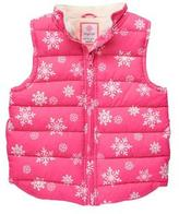 Gymboree Snowflake Vest
