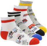 Stride Rite Boys' 4-Pack Austan Quarter Socks