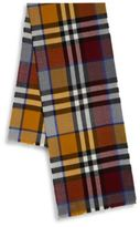 Burberry Kid's Exploded Colorblock Wool Scarf