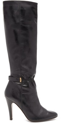 MARC JACOBS, RUNWAY Marc Jacobs Runway - Leather Knee Boots - Black