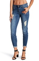 KUT from the Kloth Janet Frayed Hem Skinny Jeans
