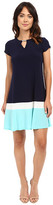 Christin Michaels Meg Color Block Dress
