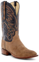 Lucchese Genuine Leather & Suede Cowboy Boots