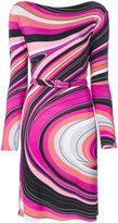 Emilio Pucci printed fitted dress - women - Spandex/Elastane/Viscose - 38
