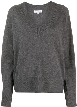 Equipment Madalene v-neck cashmere jumper