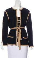 Rena Lange Wool Cardigan Set