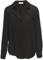 Bella Dahl Black Button Down Top