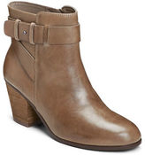 Aerosoles Inevitable Leather Zipped Ankle Boots