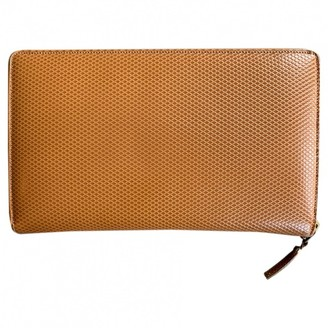 Comme des Garcons Camel Leather Purses, wallets & cases