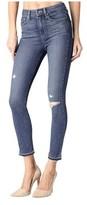 Paige Women's Margot High-Rise Crop Skinny Jean in Lexi Destruct