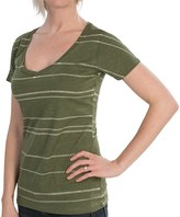 Burton Pendulum Recycled T-Shirt - V-Neck, Short Sleeve (For Women)