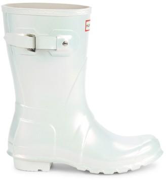 Hunter Original Nebula Iridescent Rain Boots