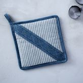 west elm Grainery Plaid Pot Holders