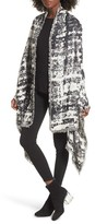 Sole Society Women's Oversize Jacquard Wrap