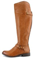 Bar III Women's Deidre Wide Calf Over The Knee Riding Boot.