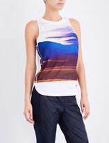 adidas by Stella McCartney Essentials Nature stretch-jersey top
