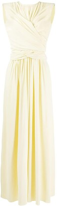 Isabel Marant Wrap-Front Maxi Dress